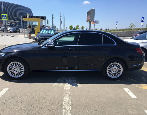 Rent a Mercedes-Benz C180 in Simferopol Airport (SIP) Crimea