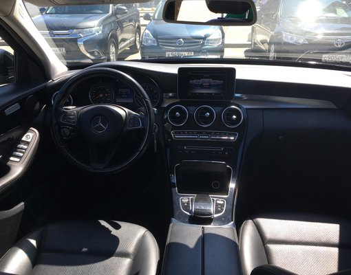 Mercedes-Benz C180, 2016 rental car in Crimea
