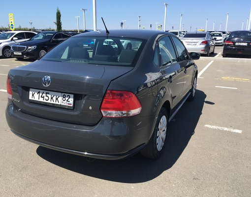 Cheap Volkswagen Polo, 1.6 litres for rent in  Crimea