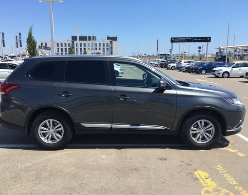 Cheap Mitsubishi Outlander, 2.0 litres for rent in  Crimea