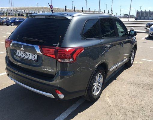 Mitsubishi Outlander, 2015 rental car in Crimea