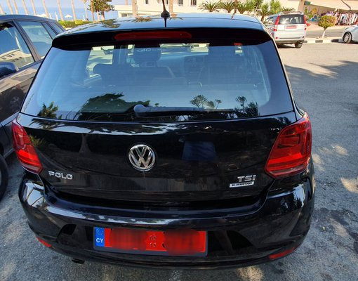 Rent a Volkswagen Polo in Paphos Cyprus