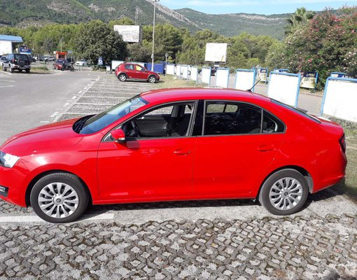 Skoda Rapid, 2019 rental car in Montenegro