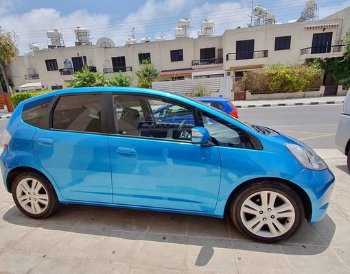 Rent a Honda Jazz in Paphos Cyprus