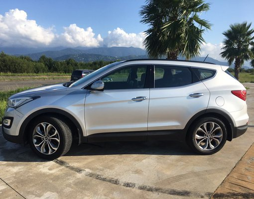 Rent a Hyundai Santafe in Tbilisi Georgia