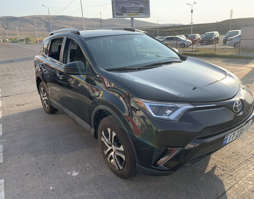Rent a Toyota Rav 4 in Tbilisi Georgia