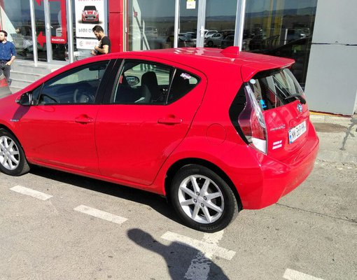 Toyota Prius C, Automatic for rent in  Tbilisi