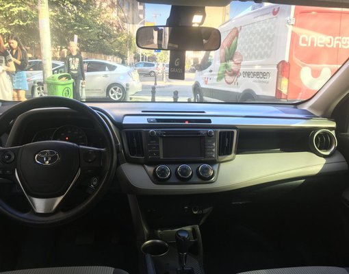 Toyota Rav 4, Automatic for rent in  Tbilisi