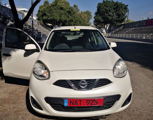 Rent a Nissan March in Limassol Cyprus