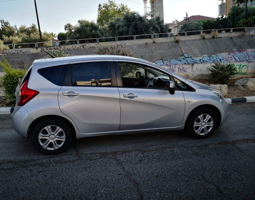 Nissan Note, Automatic for rent in  Limassol