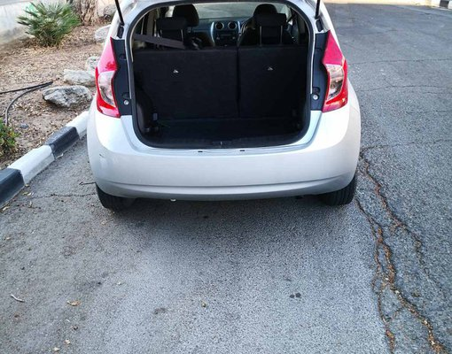 Nissan Note, Petrol car hire in Cyprus