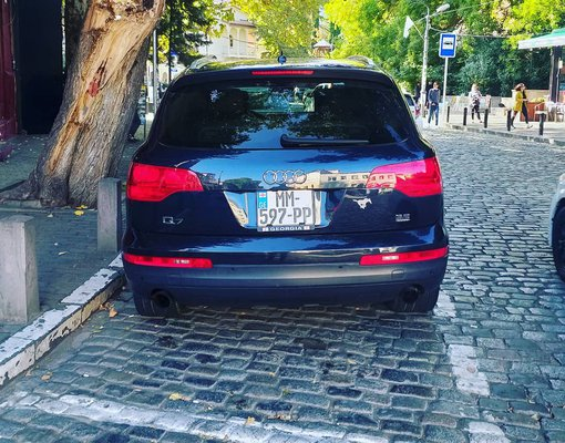 Cheap Audi Q7, 3.5 litres for rent in  Georgia