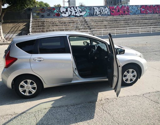 Nissan Note, 2013 rental car in Cyprus
