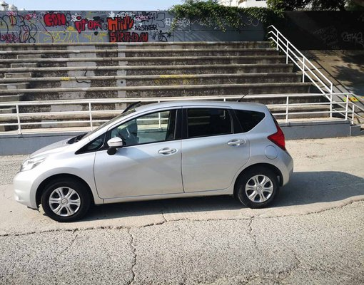 Rent a Nissan Note in Limassol Cyprus