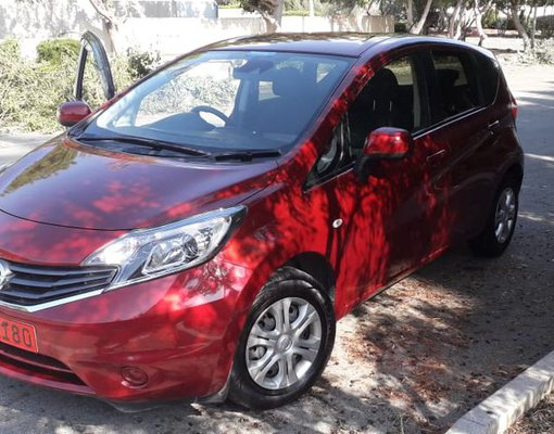 Rent a Nissan Note in Paphos Cyprus
