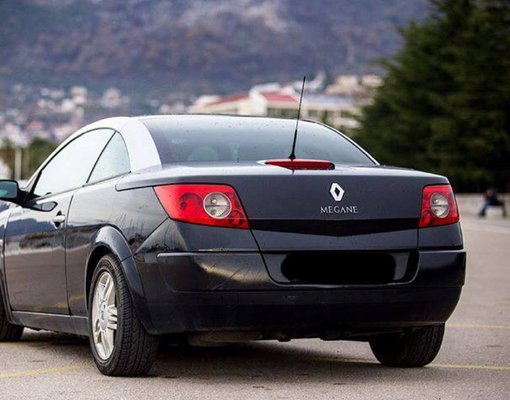Renault Megane Cabrio, Automatic for rent in  Budva