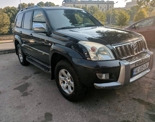 Toyota Land Cruiser Prado, Petrol car hire in Georgia