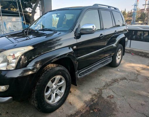 Toyota Land Cruiser Prado, Automatic for rent in  Tbilisi