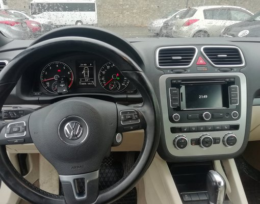 Rent a Volkswagen Eos in Tbilisi Georgia