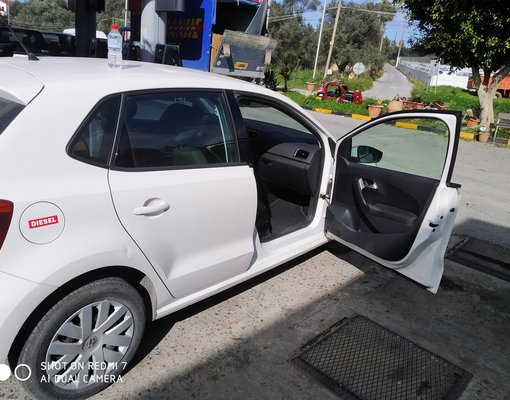 Rent a Volkswagen Polo in Rethymno Greece