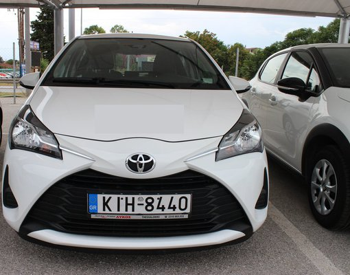 Rent a Toyota Yaris in Thessaloniki Greece