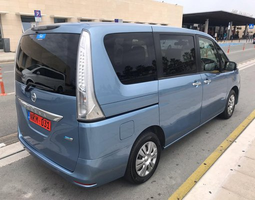Nissan Serena Hybrid, Automatic for rent in  Paphos