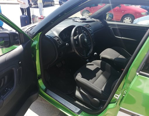Skoda Fabia VRS, Automatic for rent in  Burgas