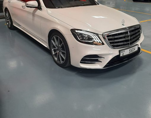 Mercedes-Benz S 560, 2019 rental car in UAE
