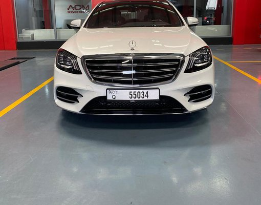Mercedes-Benz S 560, Petrol car hire in UAE