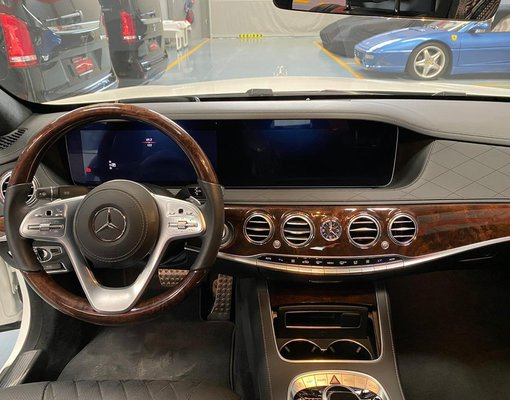 Mercedes-Benz S 560, Automatic for rent in  Dubai