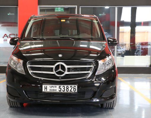 Rent a Mercedes-Benz V-Class in Dubai UAE