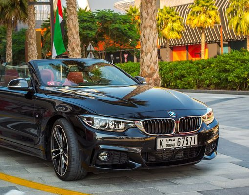 BMW 430i Convertible, Automatic for rent in  Dubai