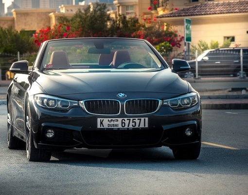 Rent a BMW 430i Convertible in Dubai UAE
