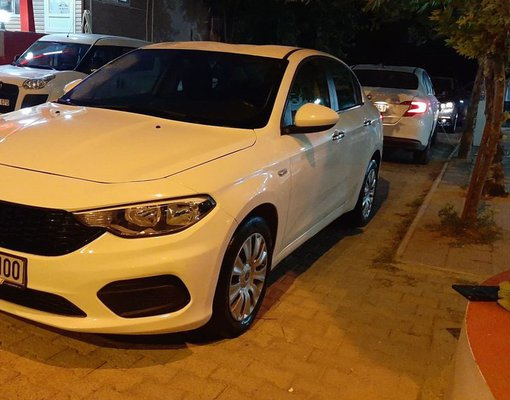 Fiat Linea 2017, Manual for rent in  Antalya